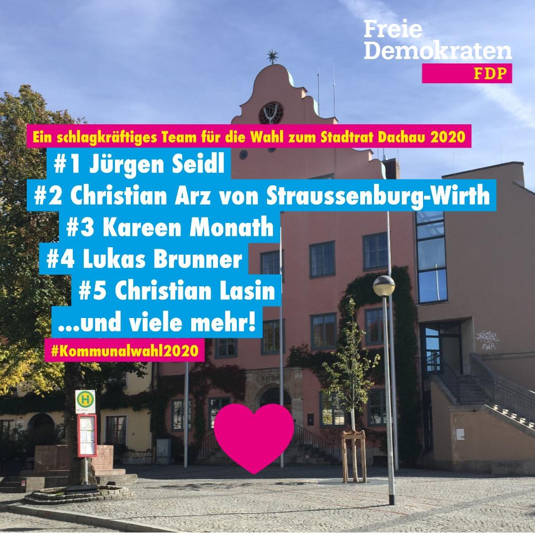 FDP Dachau Kommunalwahl 2020