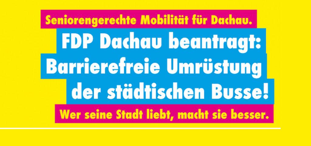 Barrierefreiheit Dachau Bus